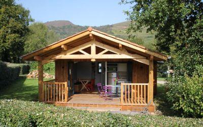 La nouvelle formule d'éco-cabane au camping Narbaitz